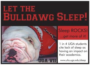 #BeWellUGA and Learn About…Managing Stress: Sleep