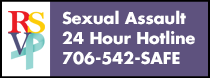 Sexual Assault 24 Hour Hotline 706-542-SAFE