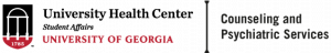 UGA Counseling and Psychiatric Services Logo