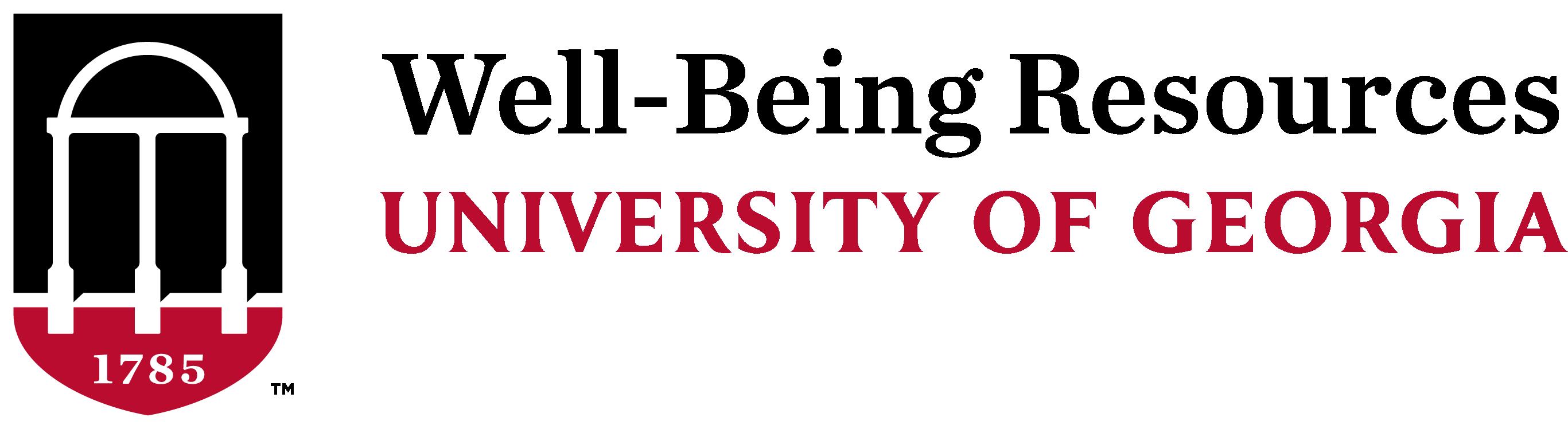 UGA Well-being Resources Logo