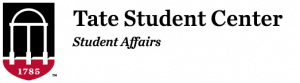 Tate Student Center Logo